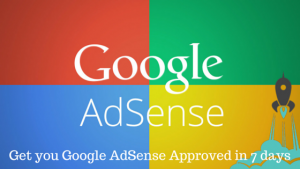 how to get adsense approval in 6 days