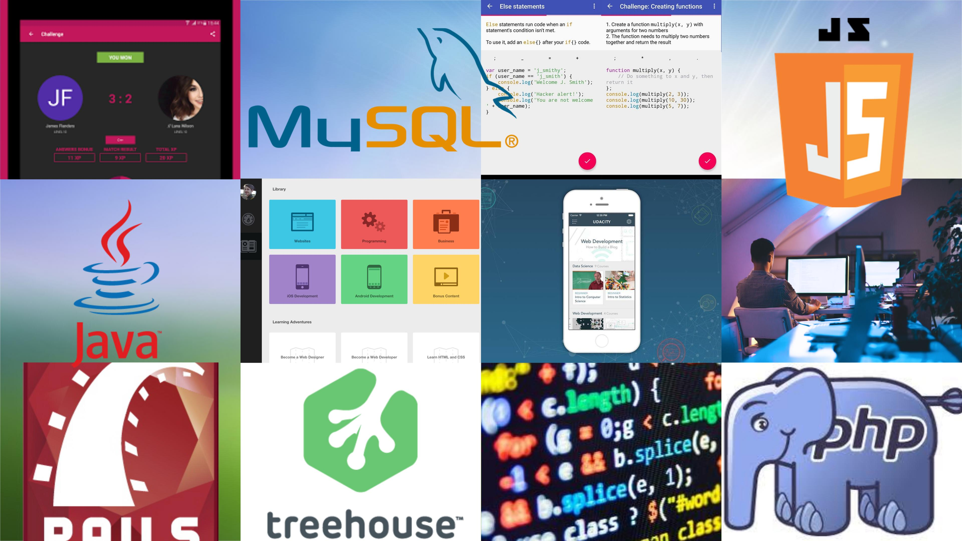 Best Android Apps For Learning Programming