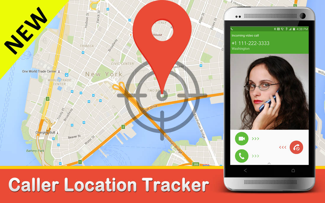 Tracker Call Location Detail App For Android