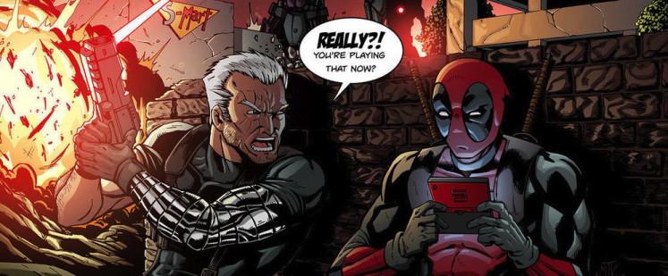 Deadpool Game Animation