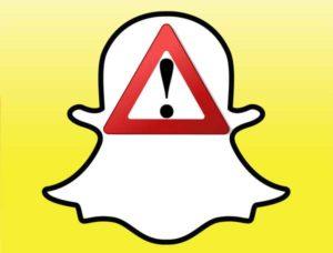 snapchat wont open error