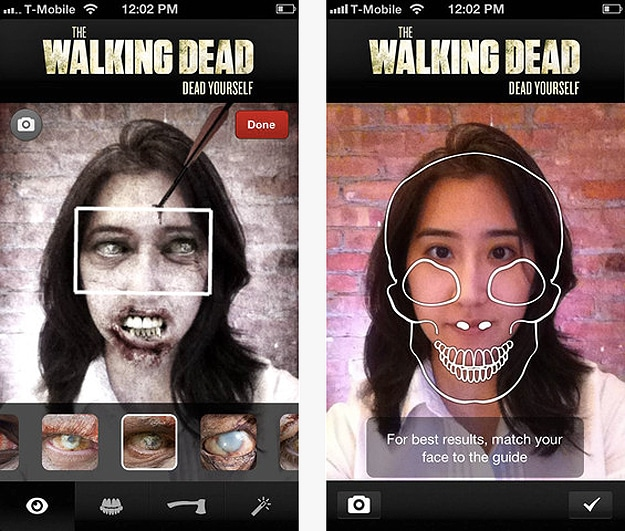 walking dead yourself app