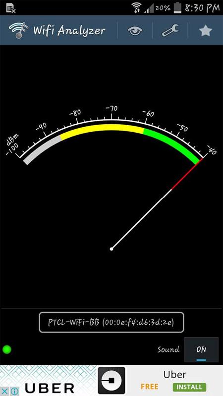 wifi signal meter